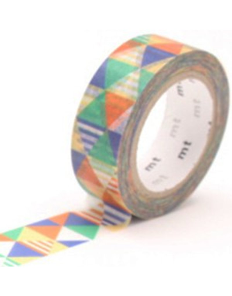 MT masking tape shimasankaku blue