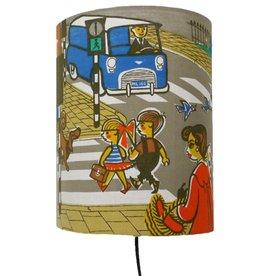 Huisteil creaties Muurlamp Op weg