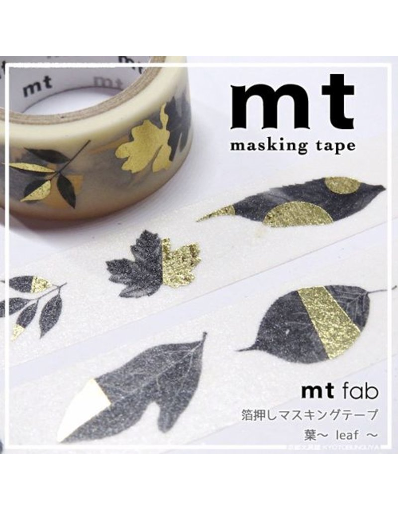 MT masking tape fab leaves