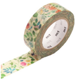 MT  MT masking tape ex watercolor flower