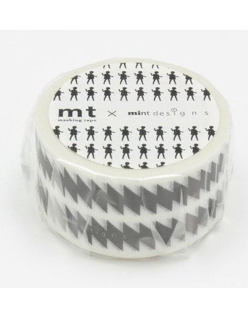 MT masking tape ex ZigZag black