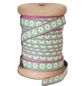 Aspegren 25 meter band lucy green op houten klos