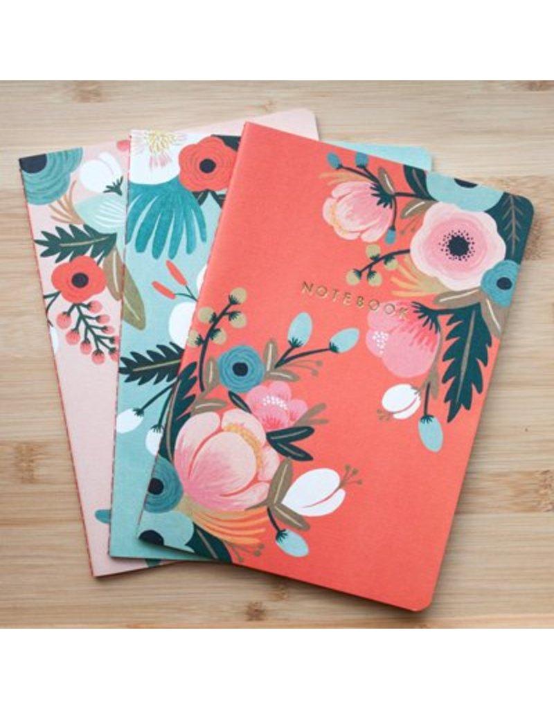 Notebook set Botanicals