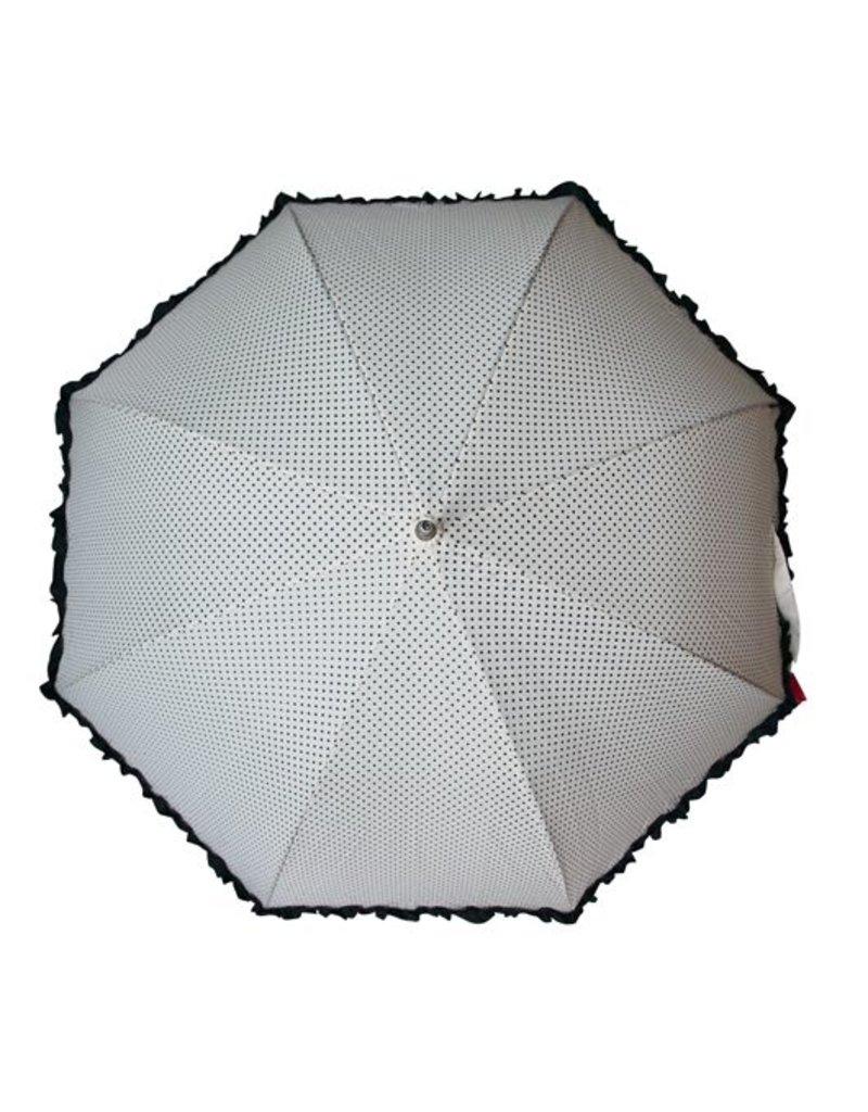 Paraplu frou frou wit