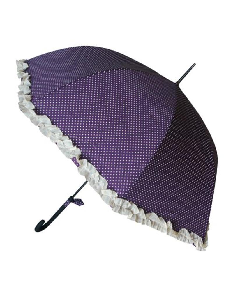 Paraplu frou frou paars