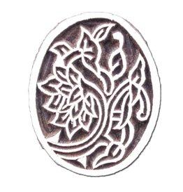Textiel stempel floral