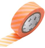 MT masking tape stripe shocking orange