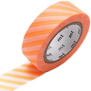 MT masking tape stripe shocking orange