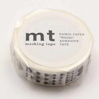 MT masking tape heart scale