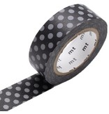 MT masking tape dot black x gray