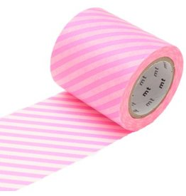 MT  MT casa stripe shocking pink 50 mm