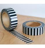 Masking tape piano