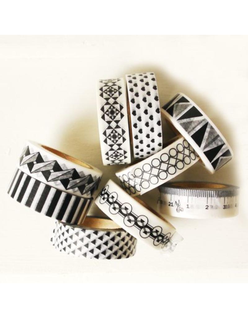 Masking tape Escher style