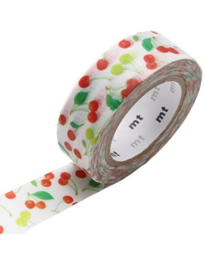 MT masking tape cherries