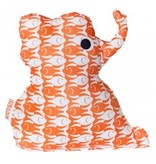 Knuffel olifant orange