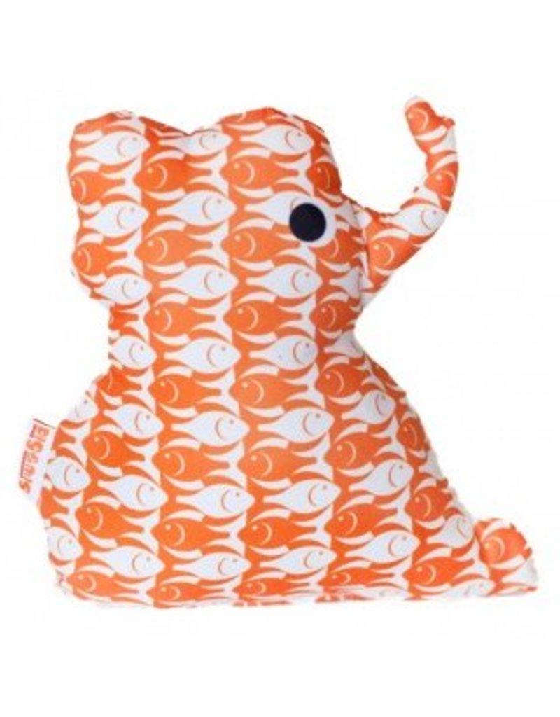 Knuffel olifant orange