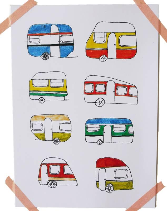Kaart caravan love
