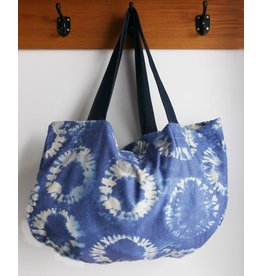 Zilte atelier Sling beach bag blue