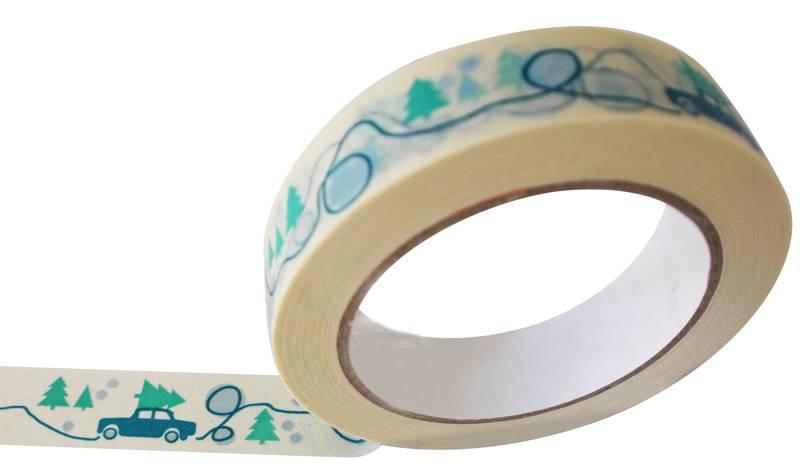 Winterlandschap tape eco papier