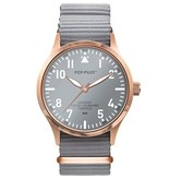 Horloge seaside blossom gray