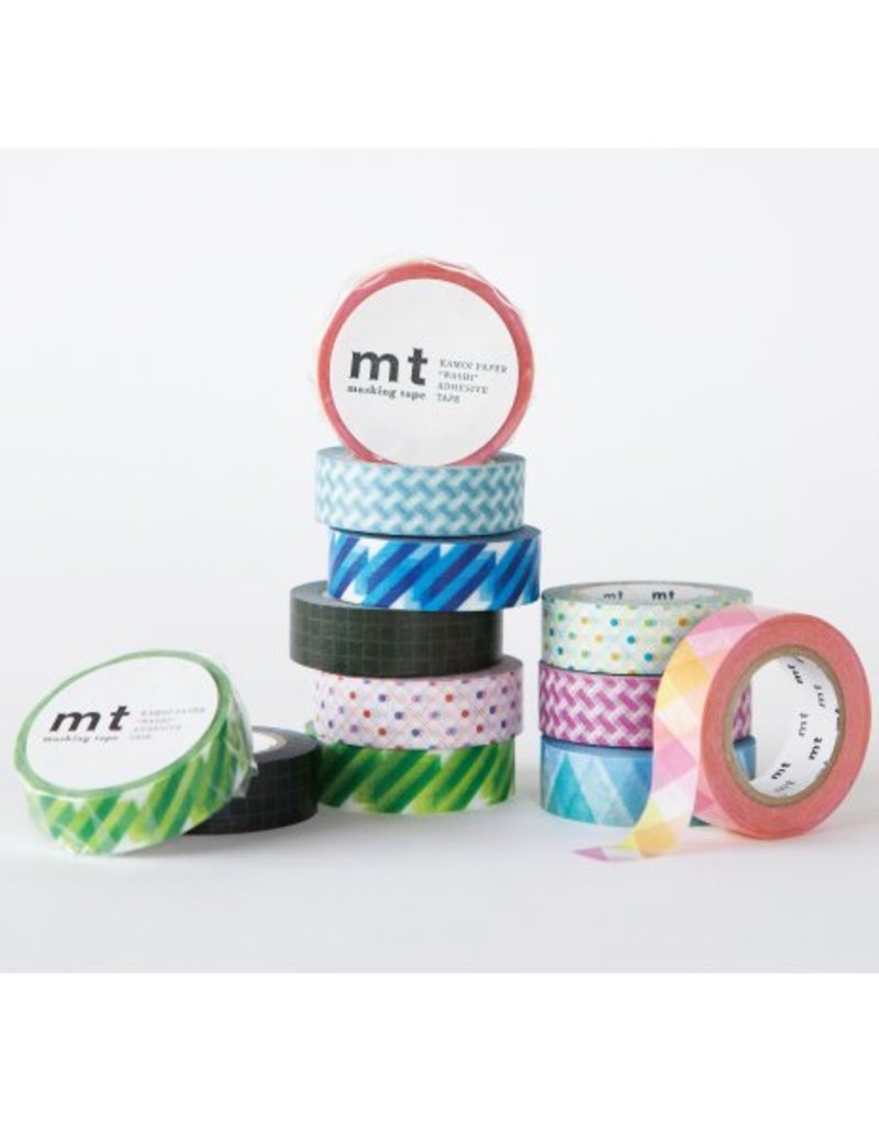 MT masking tape crystal blue