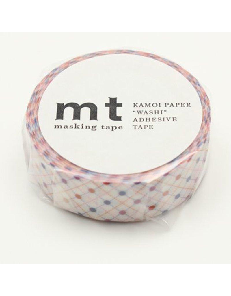 MT masking tape hasen dot red