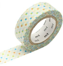 MT  MT masking tape hasen dot green