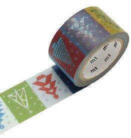 MT  MT masking tape kerst paper tree