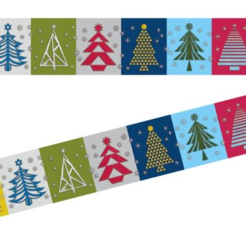 MT masking tape kerst paper tree