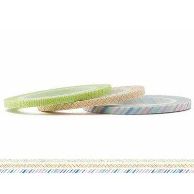 MT masking tape slim set pastel 3 mm