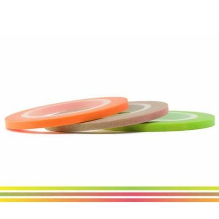 MT masking tape slim set neon gradation 3 mm