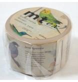 MT masking tape ex encyclopedia bird