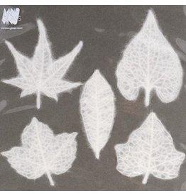 Mino on glass Mino Washi papier set 5 bladeren