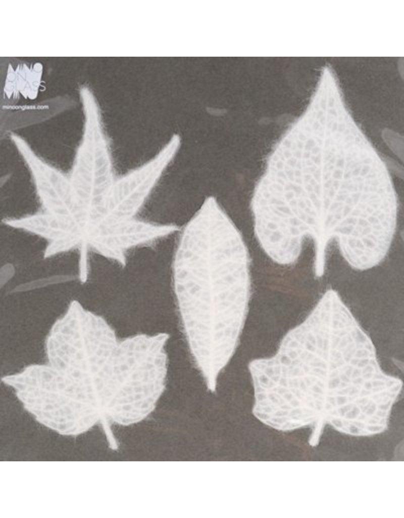 Mino Washi papier set 5 bladeren