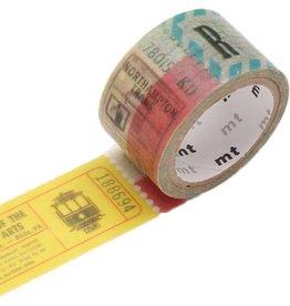 MT  MT masking tape fab ticket
