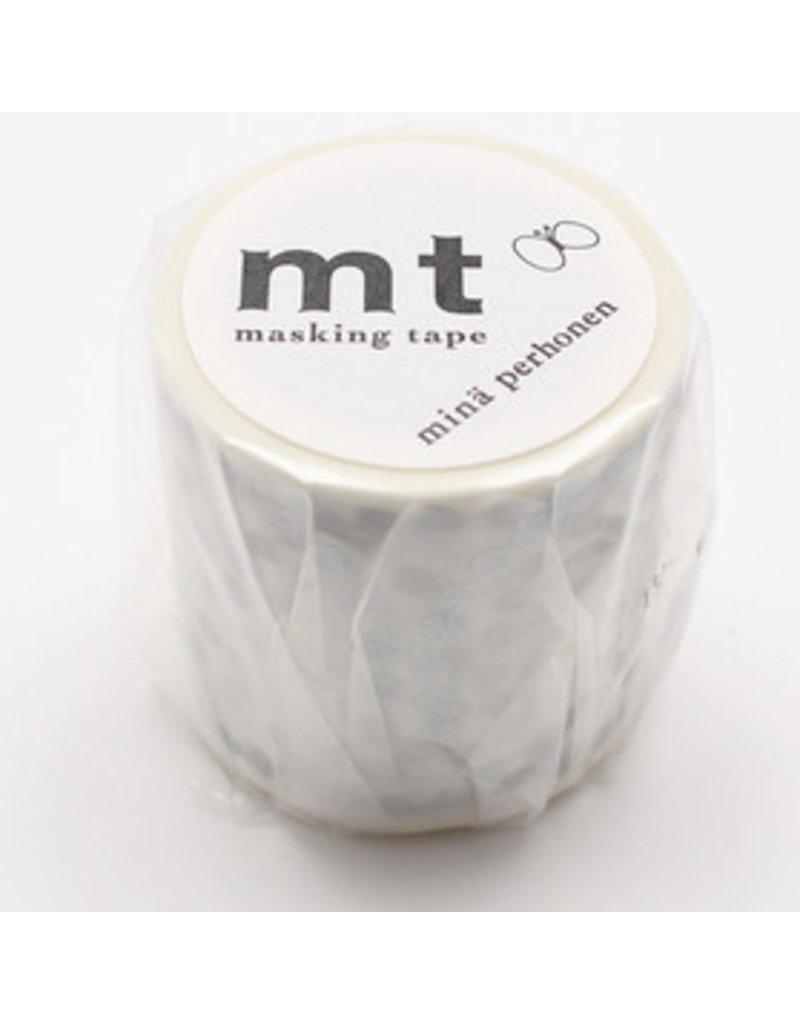 MT masking tape ex tambourine grande silver