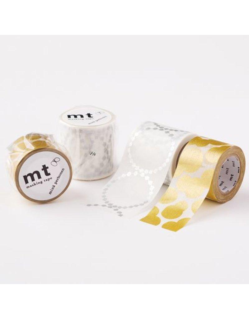 MT masking tape ex soda water gold