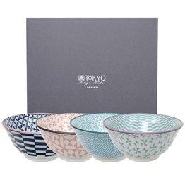tokyo design studio Set Japanse kommen geometric