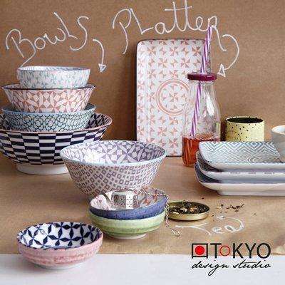 Set Japanse kommen geometric