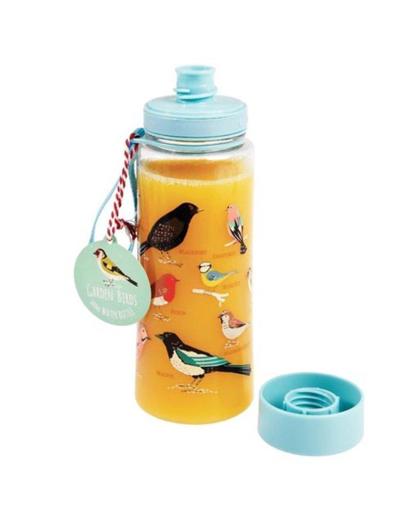 Drinkfles met tuinvogels