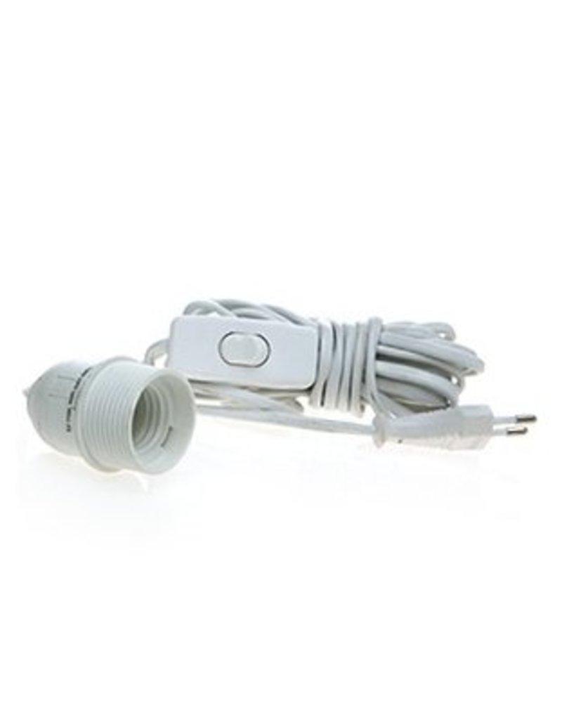 Lichtsnoer wit voor lampion of ster