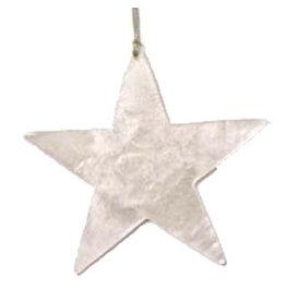 Kinta Kersthanger ster zilver