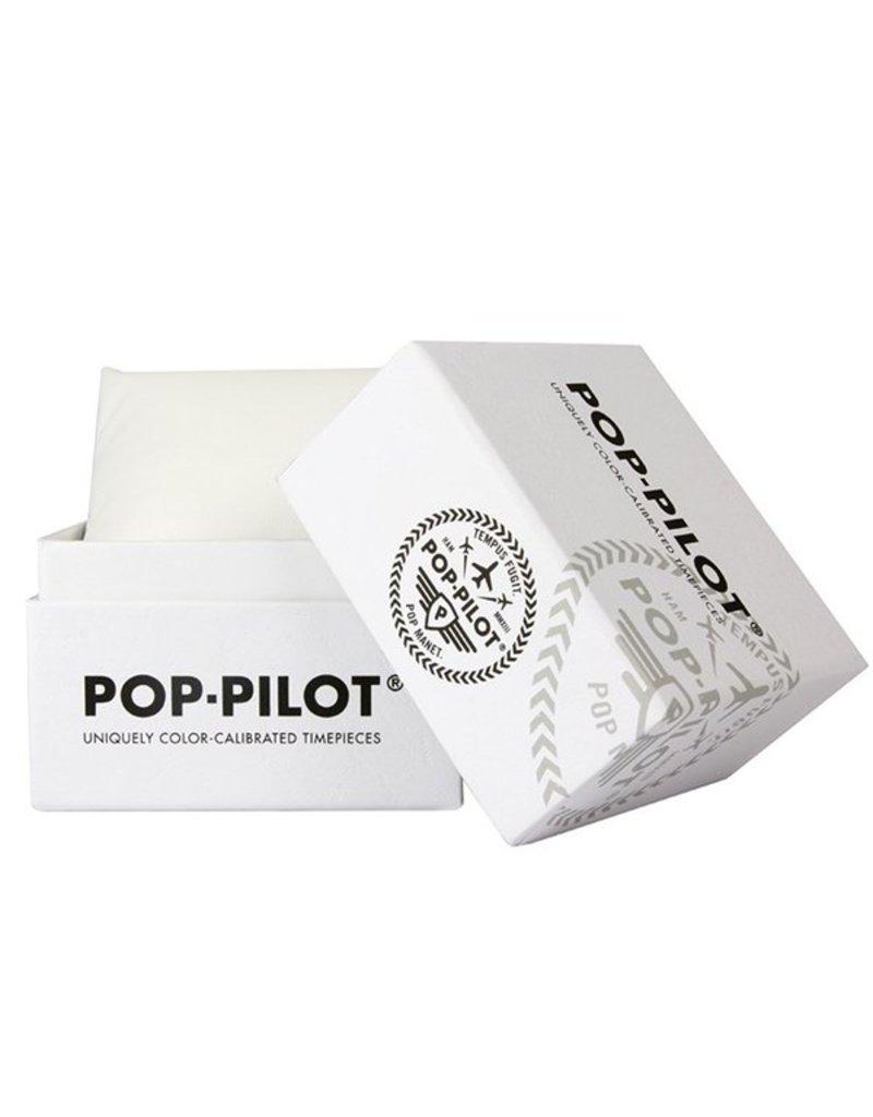 Horloge Pop Pilot classic orange
