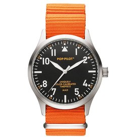 Pop Pilot Horloge Pop Pilot classic orange