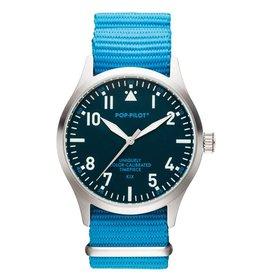 Pop Pilot Horloge Pop Pilot classic blue