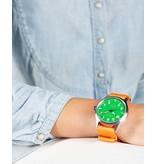Horloge Pop Pilot holiday orange