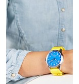 Horloge Pop Pilot holiday lemon