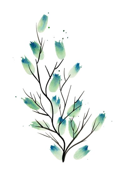 Kaart Leaves