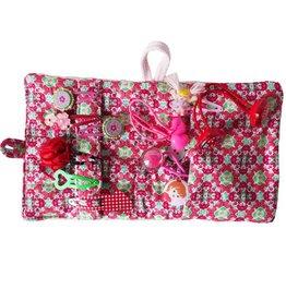 Zilte atelier Opbergzakje haaraccessoires retro soft pink