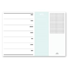 Studio Stationery A4 Weekly planner